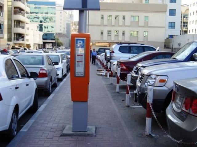 Парковка в ОАЭ