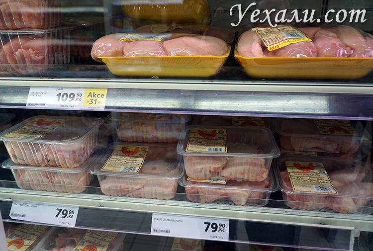 продукты в Чехии