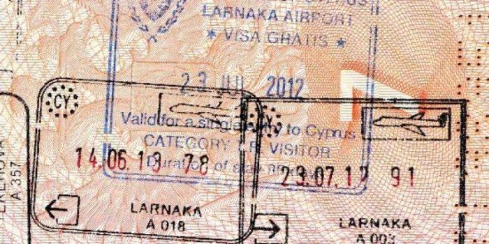 кипрский штамп в паспорте