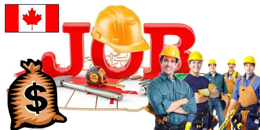 Зарплата строителей в Канаде