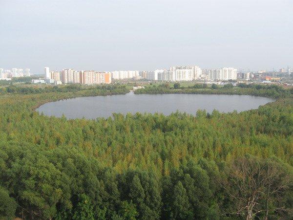 Святое озеро микрорайон Косино город Москва