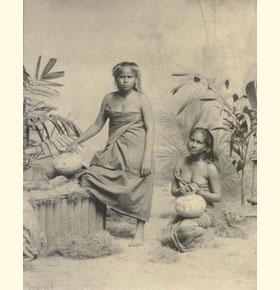 Две женщины из низкой касты родия.