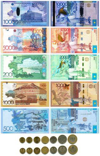 Казахстанская валюта - тенге