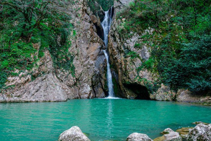 Агурские водопады, Сочи.