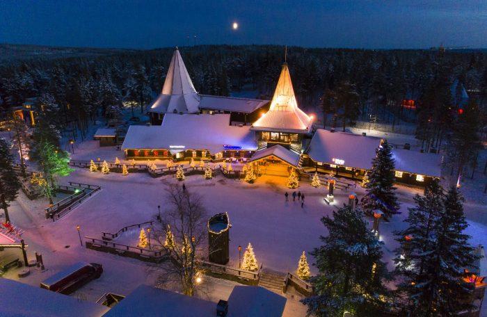 Финляндия, деревня Деда Мороза