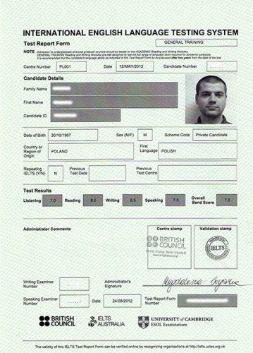 сертификат IELS
