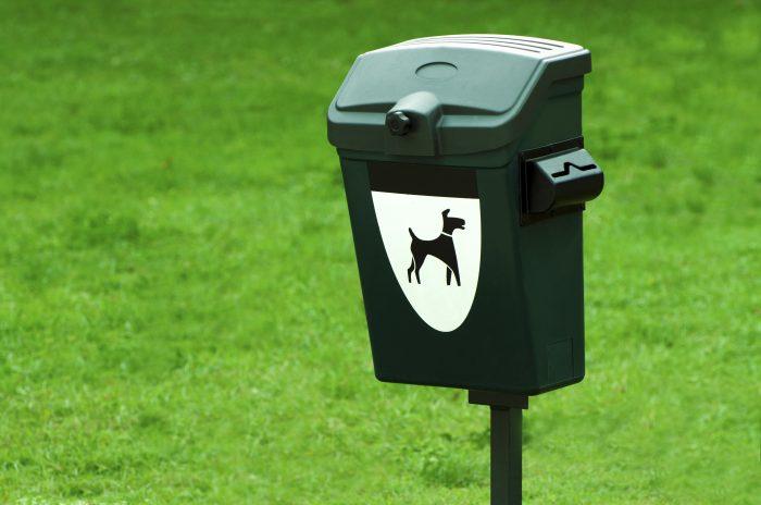 Контейнер для уборки за собаками