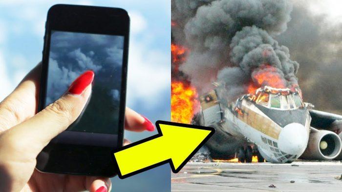 Опасность телефона на борту