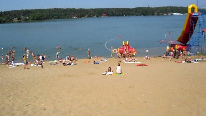 Пляж «Рублёво»