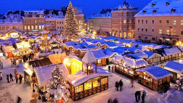 Франция зимой