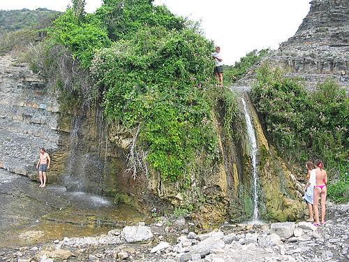 Жемчужный водопад - Большой Утриш