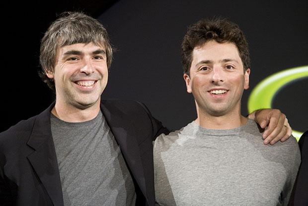 Основатели Google Сергей Брин и Ларри Пейдж