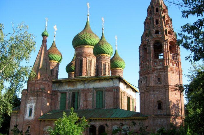 Храм Николы Мокрого в Ярославле