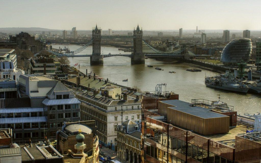 Уровень урбанизации Великобритании