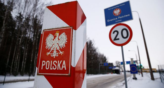 Граница Польши и России