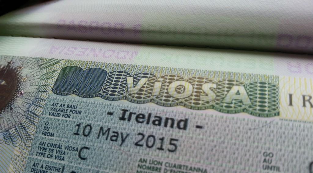 Оформление визы в Ирландию для белорусов