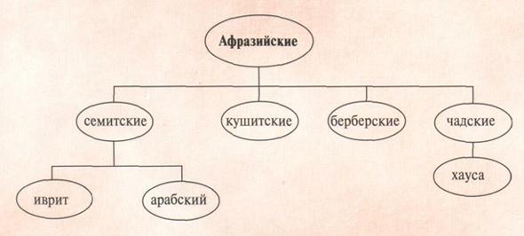 Соотношения языков
