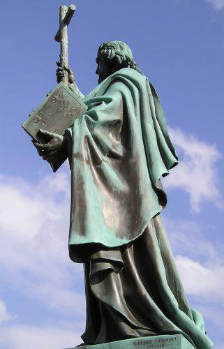 Памятник Св. Бонифацию в Фульде
