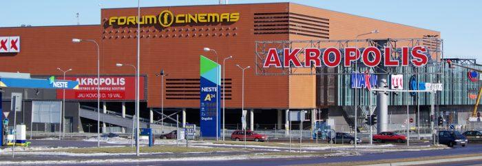 ТЦ «Akropolis» в Вильнюсе