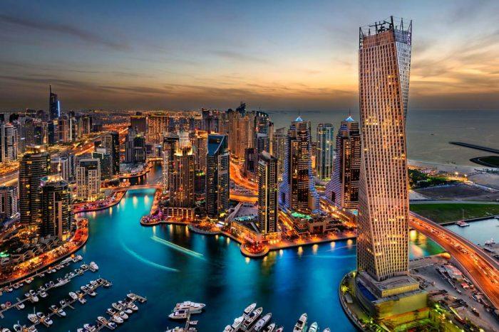 Dubai Marina в Дубае