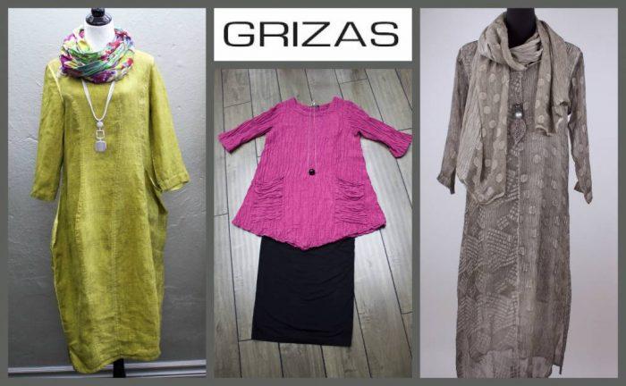 Одежда марки Grizas