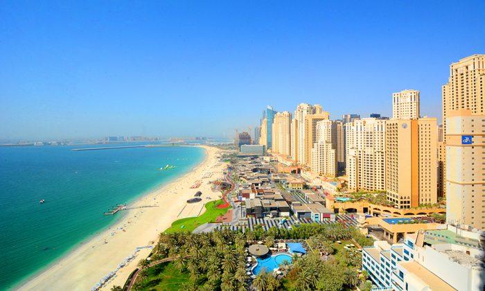 Jumeirah Beach Residence в Дубае