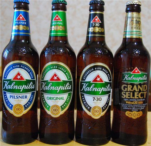 литовское пиво «Kalnapilis»