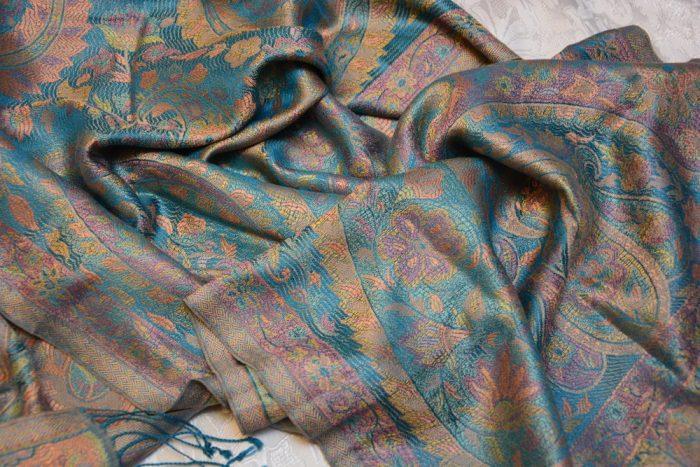 кашемировый платок из индии