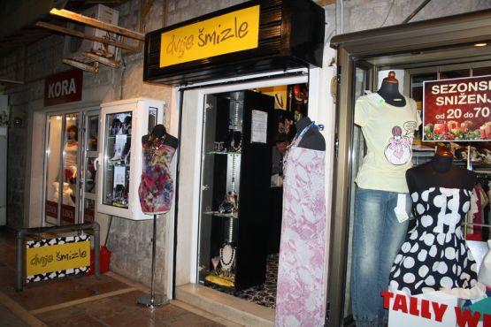 Магазин одежды в Подгорице