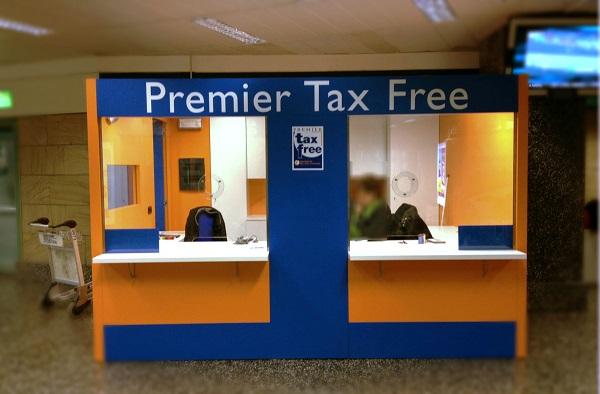 Стойка tax-free в Праге