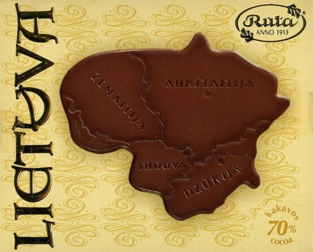 шоколад «Рута» из литвы