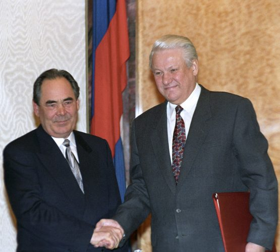 Минтимер Шаймиев и Борис Николаевич Ельцин