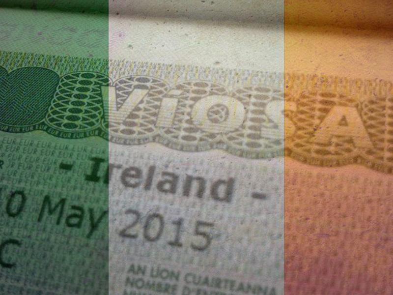 Оформление и получение рабочей визы в Ирландию