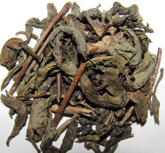 зеленый абхазский чай