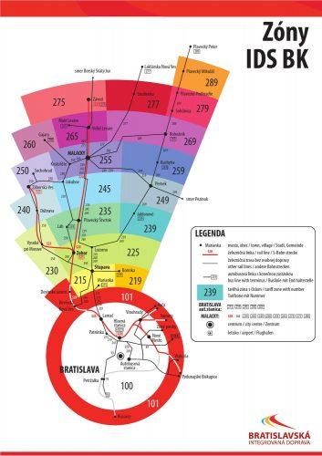тарифные зоны в братиславе