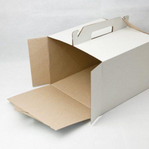 Картонная коробка для торта