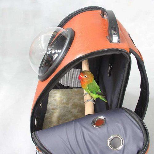 Рюкзак-переноска для попугаев