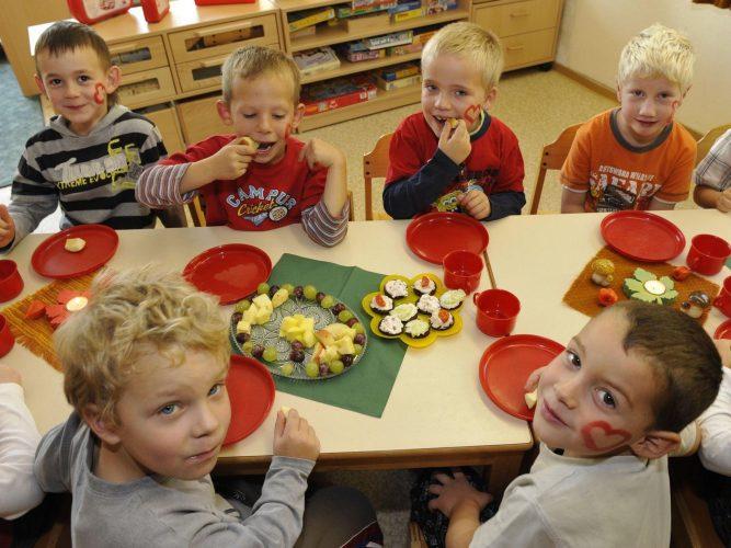 Еда в детском саду в Германии