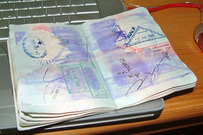Намоченный паспорт