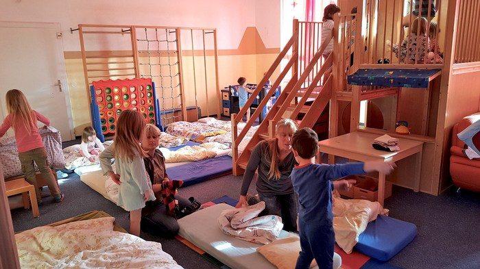 Тихий час в детском саду Германии