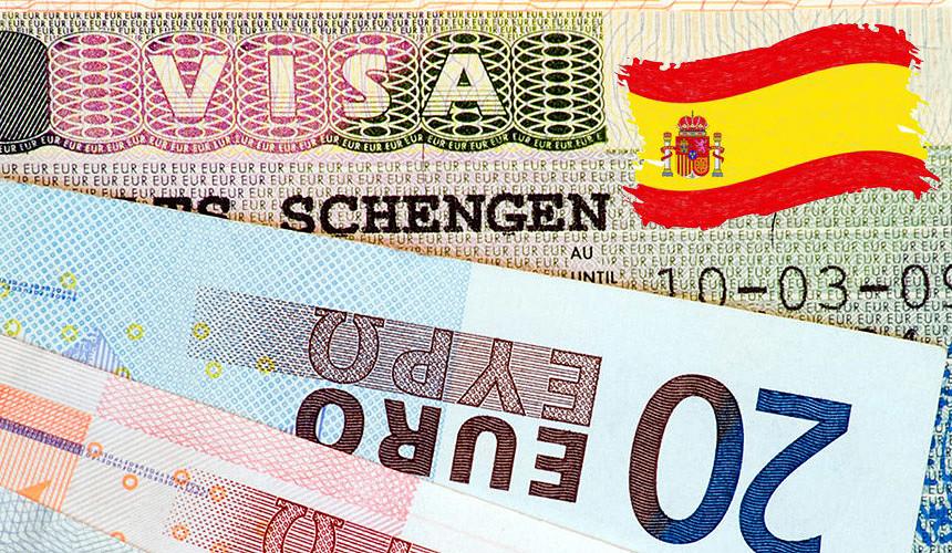 Визовый сбор и стоимость оформления визы в Испанию
