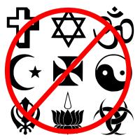 В каких странах запретили религию