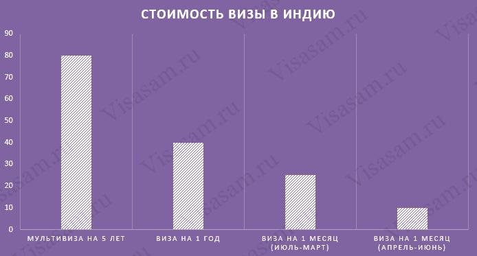 Стоимость Е-Tourist Visa