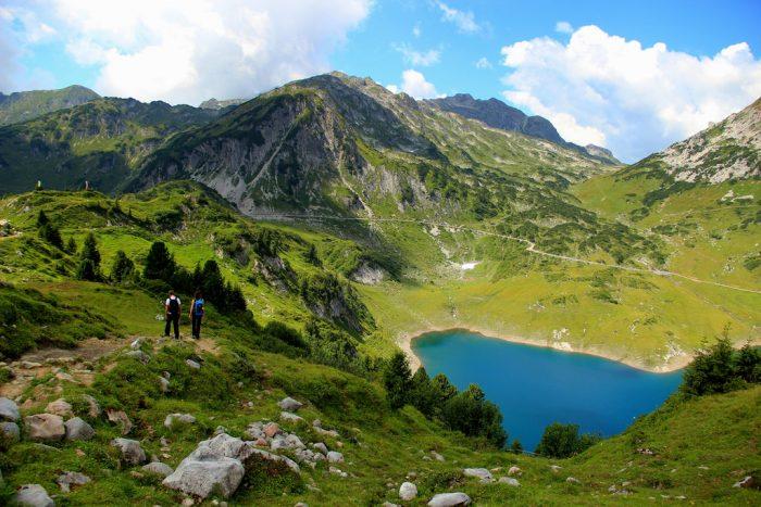 Поход в горы в Австрии