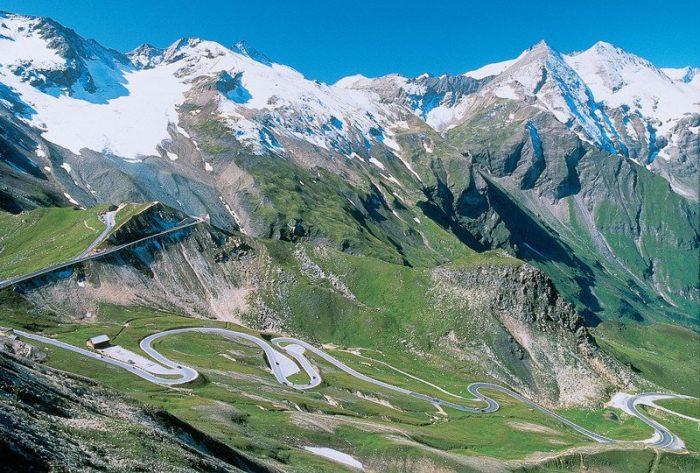 Самая высокая гора Австрии - Гросглокнер