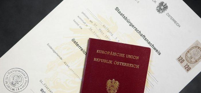 Как выглядит австрийский паспорт и гражданство
