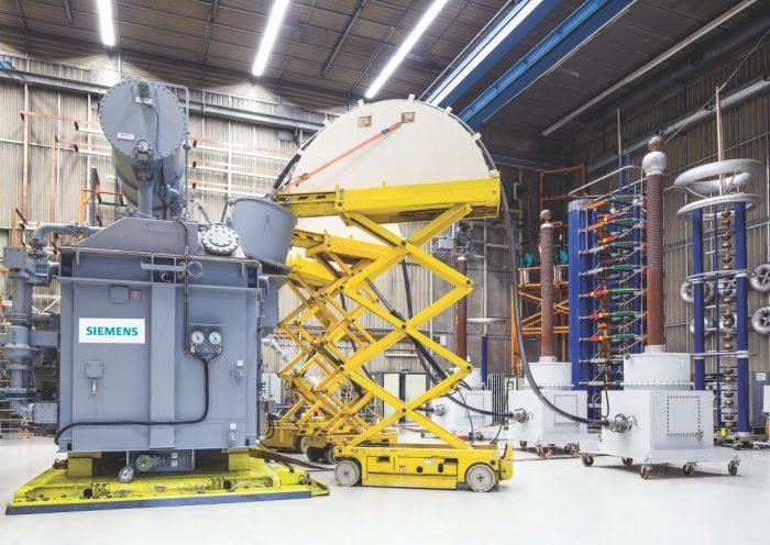 Siemens в Линце