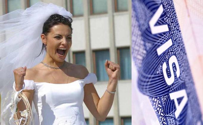 виза невесты