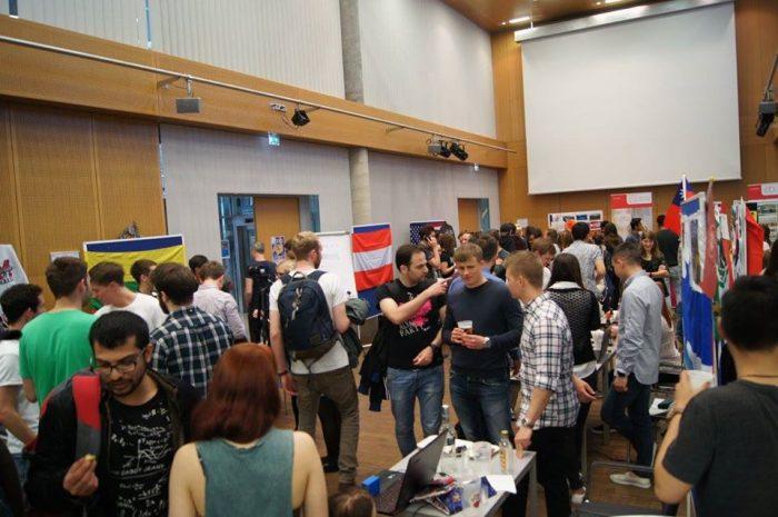 Международный вечер в университете Австрии