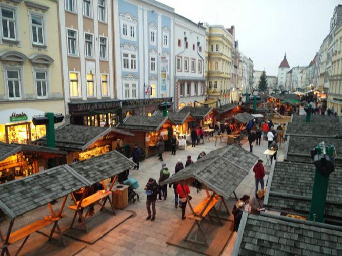 Рождественский маркет в Австрии